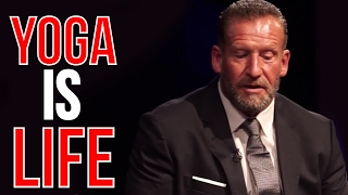 YOGA is a metaphor for LIFE | DORIAN YATES Live Q&A at BAFTA - Movie World Premiere