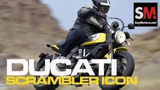 Presentación Ducati Scrambler Icon 2015