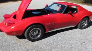 1975 Corvette Stingray