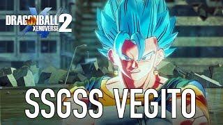 Dragon Ball Xenoverse 2 - PS4/XB1/PC - SSGSS Vegito Moveset (DB super Pack 4)