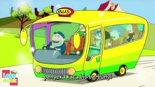 Roda Mobil Bis Berputar (Wheels on the bus) | Lagu Anak Indonesia | Lagu Anak Channel