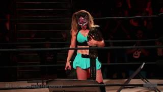 Sexy Star habla tras su coronación como nueva campeona de Lucha Underground