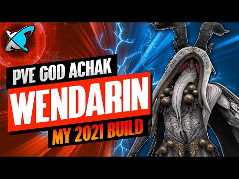 ACHAK THE WENDARIN IS A GOD IN 2021! | Masteries & Guide | Best Budget Builds | RAID: Shadow Legends