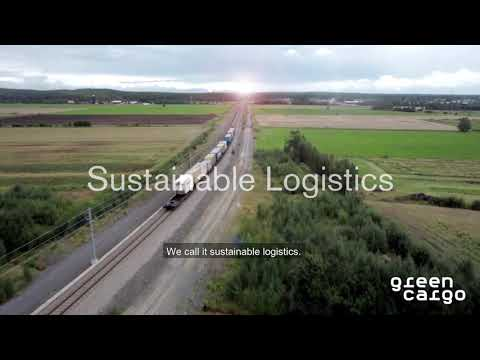 Sustainable logistics by Green Cargo - English subtitle
