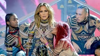 Jennifer Lopez Epic Dance Opening at 2015 AMAs