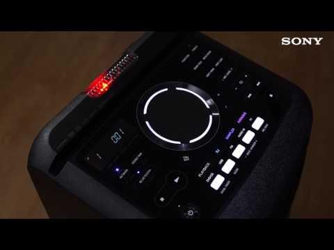 Идеальная вечеринка с Sony MHC-V77DW