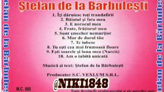 Stefan De La Barbulesti   E Norocul Meu 2014