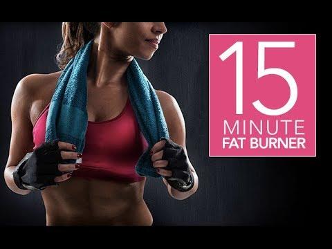 15 Minute Fat Burning Workout (INTENSE FAT BLASTING ROUTINE!!)