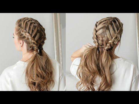 Waterfall Braid & Double Dutch Braids | Missy Sue