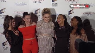 Dance Moms Cast Chloe Lukasiak, Kendall Vertes, Kalani Hilliker 'A Cowgirl's Story' LA premiere