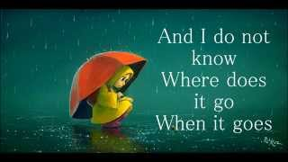 Regina Spektor - Raindrops |Lyrics|