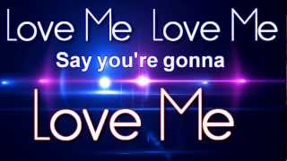 Big Time Rush - Love Me Love Me (Lyric Video)