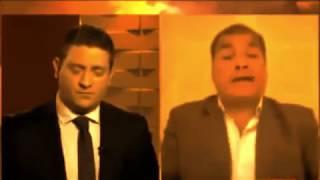 """PALIZA MEDIÁTICA: Rafael Correa cruzó a Jonatan Viale: """"haces preguntas irrelevantes, mal informado"""""""
