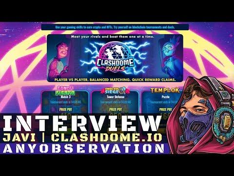 Clashdome.io   Blockchain html5 games   Interview with Javi