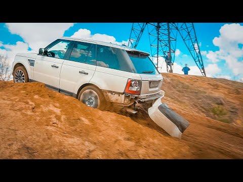 Беспомощные ПОНТОРЕЗКИ / BMW X6M поспорил с RANGE ROVER и TOYOTA PRADO на бездорожье