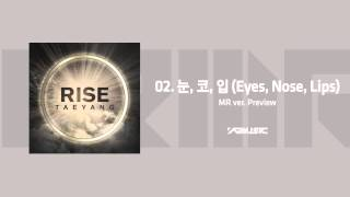 TAEYANG - 눈,코,입(EYES,NOSE,LIPS) MR ver. Preview