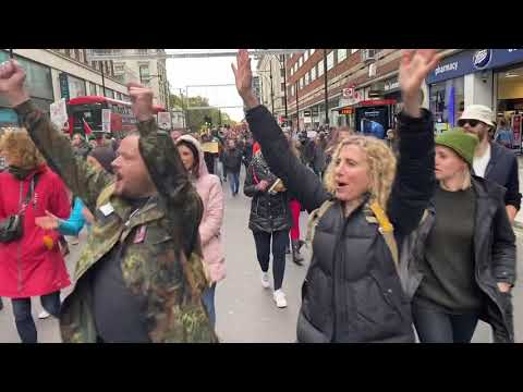 dati/mainpagelinks/London uk covid chaos pandemic protest March antivax