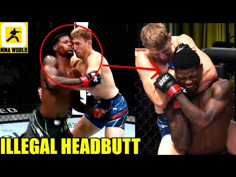 MMA Community react to Holland tapping out to Daukaus but still the fight gets ruled as a No Contest