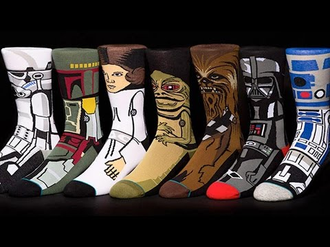 Here's What $280 Worth of Star Wars Socks Looks Like - Up At Noon Live