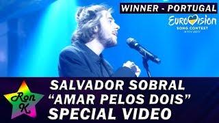 """Salvador Sobral - """"Amar Pelos Dois"""" - Special Multi-cam video - Eurovision 2017 WINNER"""