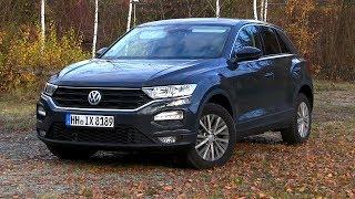 2019 VW T-Roc 1.6 TDI (115 HP) TEST DRIVE
