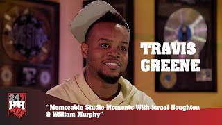 Travis Greene - Memorable Studio Moments With Israel Houghton & William Murphy (247HH Exclusive)
