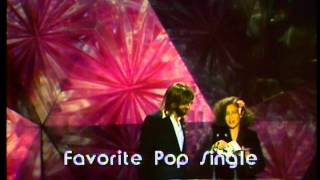 """The Commodores Win Favorite Pop/Rock Single For """"Three Times A Lady"""" - AMA 1979"""