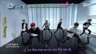 [Vietsub+Engsub+Kara][160512] [MCountdown] BTS - Save Me Live