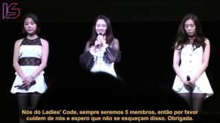 [22/08/15] Ladies' Code Memorial Concert ( Legendado / Tradução PT-BR )