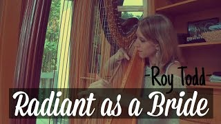 Tiffany Envid ~ Harpist - Radiant as a Bride by Roy Todd