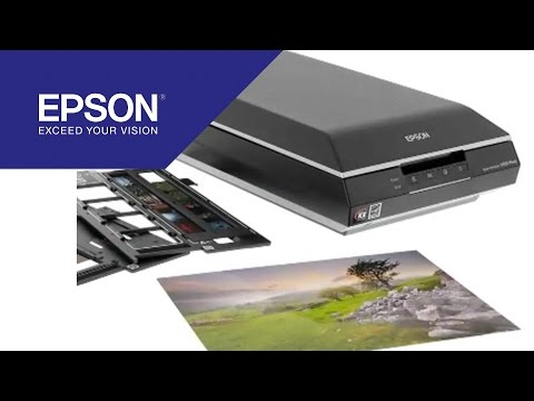 Quality and versatilty with the Perfection V600 Photo scanner | Epson