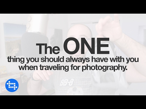 The ONE thing you should always have with you when traveling for photography.