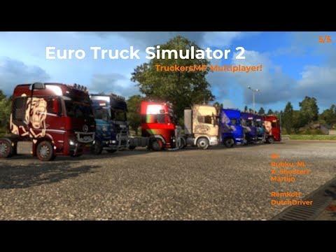 Euro Truck Simulator 2  TruckersMP  Part 55 Livestream 25112017