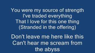 Skillet   Falling Inside the black - Lyrics
