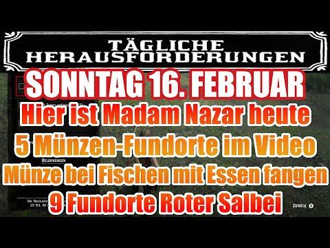 Sonntag 16. Februar Täglichen Herausforderung Dailys Nazar Red Dead Redemption 2 Online