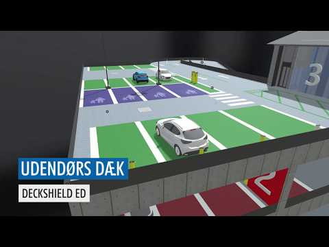 Flowcrete Denmark - Car park fly through animation