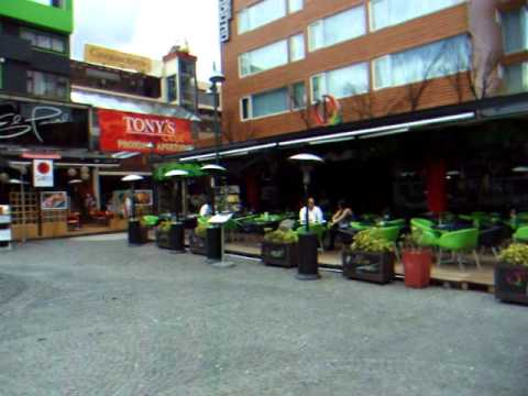 New Town Quito – Plaza Foch – Ecuador – December 2010