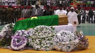 Cérémonie d'hommage à Salifou Diallo