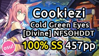 Cookiezi |  Station Earth - Cold Green Eyes ft. Roos Denayer [Divine] | NFSOHDDT SS 457pp | Liveplay