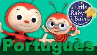 Joaninha Joaninha | Canções infantis | Música para crianças | LittleBabyBum