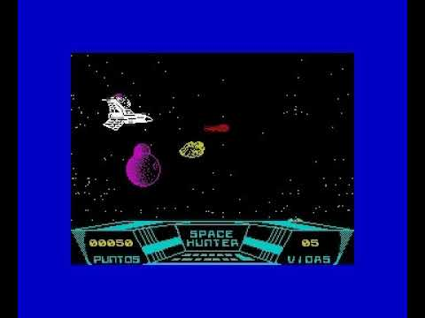 Space Hunter (Microhobby 1989) - ZX Spectrum