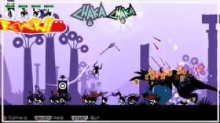 Patapon (PSP) Dragon Boss Battle
