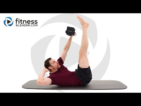 Intense 10 Minute Abdominal Strength Workout - At Home Functional Core Strength