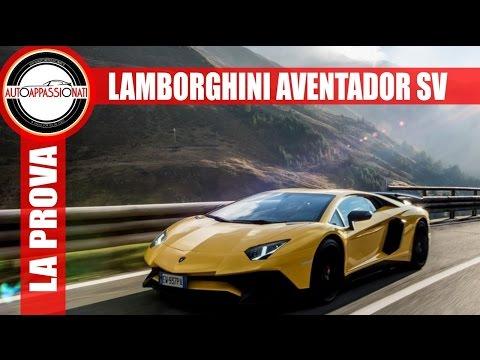 Lamborghini Aventador SV LP750-4 | Prova su strada
