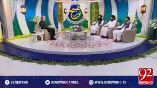 Subh E Noor -24-08-2016 - 92NewsHD