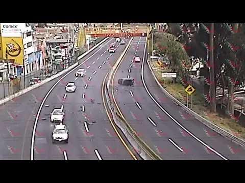 Los accidentes carreteros más impactantes en México