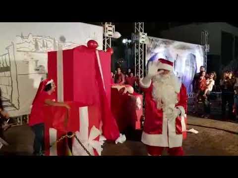 Chegada do Papai Noel em Goioerê - 2019 - Cidade Portal