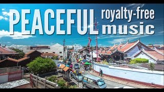 Happy Acoustic Instrumental Background. Peaceful whistling tune. Summer Uplifting Royalty-free Music