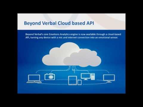 Beyond Verbal API -Tutorial 2   - Emotional Features