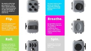 Fidget Cube - the best fidget toy Official Video
